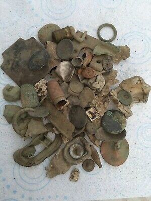 Ancient/GROUP OF INTERESTING  METAL DETECTOR FINDS FROM Norfolk Field No (8)