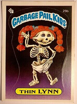 *RARE* Original 1985 Garbage Pail Kids Series 1 Thin Lynn 29b