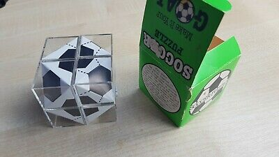 Vintage / Rare Soccer Puzzle Game by Wellingtons Ltd - Unusual Retro Rare Boxed