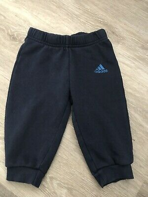 Boys Adidas Joggers/Tracksuit Bottoms Age 6 - 9 months
