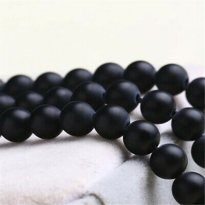 """6 mm frosted agate Loose bead Making Jewelry 1PCS 15"""" Makings Craft Wholesale"""
