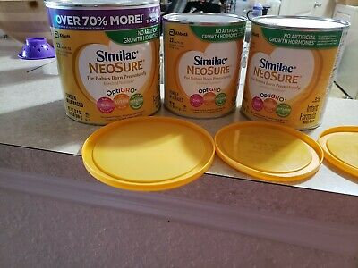 Similac NeoSure Infant Formula with Iron Powder 2 cans 12.1 onz and 1 can 22.8 o