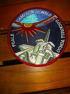 NASA Space Shuttle Mission STS-56 Discovery Atlas 2 Embroidered Iron On Patch