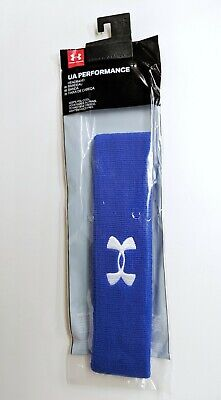 NIP Under Armour Men's Headband Blue NEW
