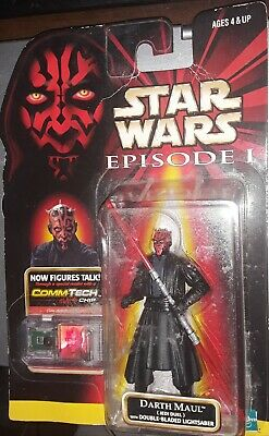 Star Wars Episode I Darth Maul Commtech Action Figure B4 The Rise Of Skywalker