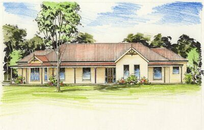 House Plans - The Strickland - Australian Colonial Style