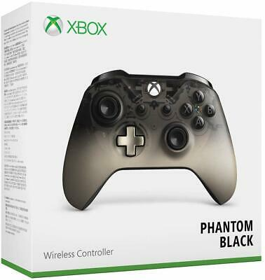 Microsoft Xbox One S Wireless Bluetooth Controller Phantom Black Brand New