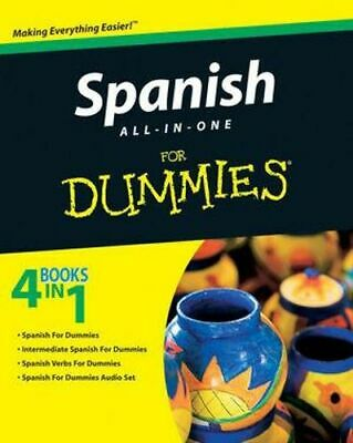 NEW Spanish All-In-One For Dummies By Consumer Dummies Paperback Free Shipping