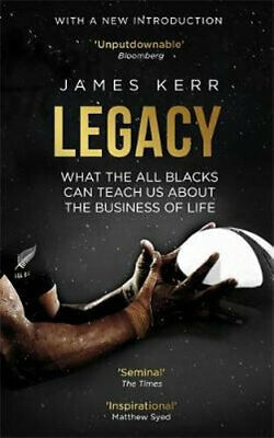 NEW Legacy By James Kerr Paperback Free Shipping