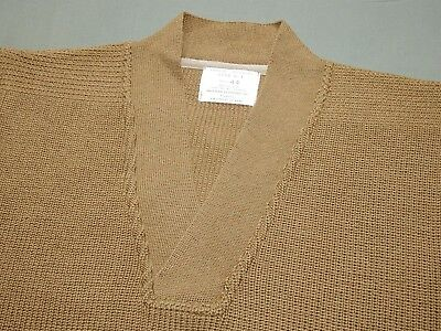 US Army AAF WW2 EASTMAN A-1 KNIT WOOL MECHANIC'S SWEATER Wear W/ Flight Jacket