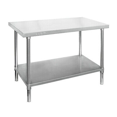 Prep Bench 900x700x900mm Undershelf & Full Stainless Commercial Kitchen Benches