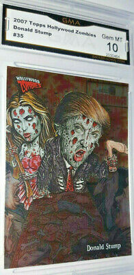 Rare Hollywood Zombies Donald Trump FREAKY FOIL trading card Gem MT 10 GMA