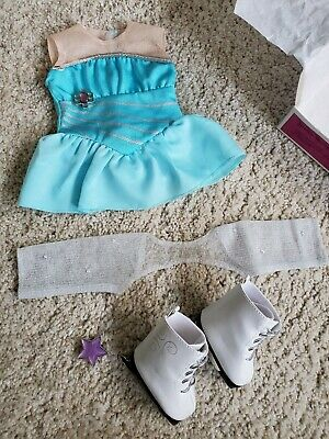 """Clothes ice skating outfit 18"""" original American Girl brand (doll not included)"""