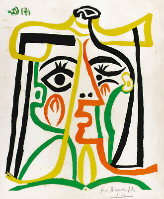 ART FREE SHIPPING      #AP625    LC26 H DANCE OF YOUTH by PICASSO POSTER