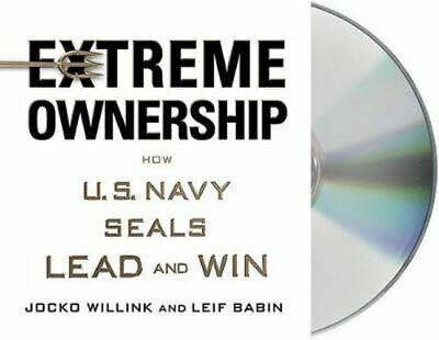 NEW Extreme Ownership By Jocko Willink Audio CD Free Shipping