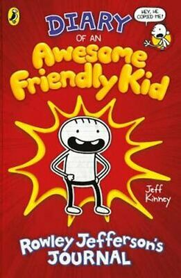 Diary of an Awesome Friendly Kid Rowley Jefferson's Journal 9780241405604