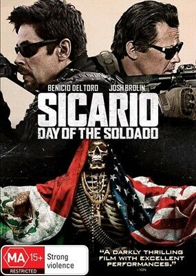 Sicario: Day of the Soldado  (DVD, 2018) Region 4