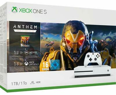 CONSOLE PACK XBOX ONE S 1 To   + 1 mois EA Access + Xbox Live Gold + Game Pass