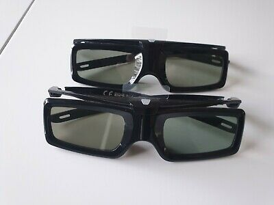 Sony TDG-BT400A Active 3D Glasses - Two Pairs, Never Used