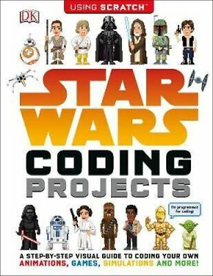 NEW Star Wars Coding Projects By DK Paperback Free Shipping