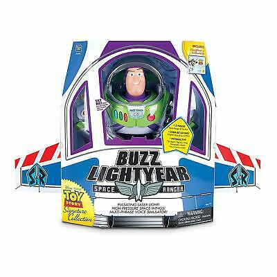 Thinkway Signature Collection Toy Story Buzz Lightyear DELUXE Film Replica NEW!