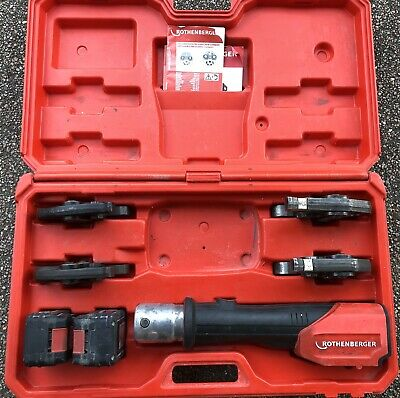 Rothenberger Romax 3000 Pressing Tool Gun.