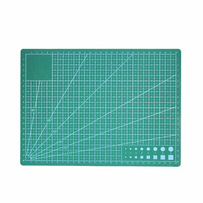 A4 Cutting Mat for Scrapbooking Quilting Sewing Green