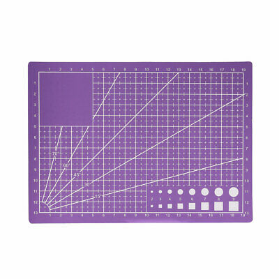 A5 Cutting Mat for Scrapbooking Quilting Sewing Purple