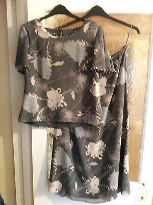 Jacques vert Outfit Top Size 12 & Skirt size 14