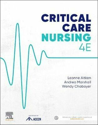 NEW Critical Care Nursing 4th Edition By Aitken Paperback Free Shipping
