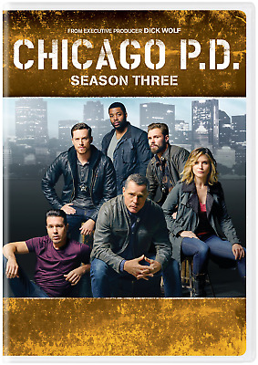 CHICAGO PD TV SERIES COMPLETE SEASON THREE 3 New Sealed DVD