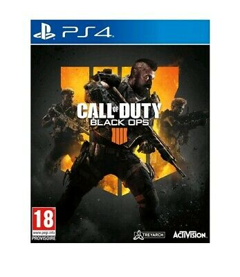 Jeux PS4-CALL of DUTY Black Ops 4 Sous Blister - Emballage D'origine  - Neuf