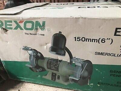Incredible Rexon Ebg 150 Double Head Bench Grinder Brand New Never Gmtry Best Dining Table And Chair Ideas Images Gmtryco