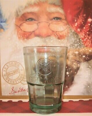 Bacardi stack able heavy glass 36cl x 3 new