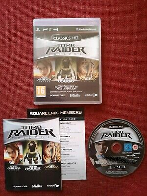 The Tomb Raider Trilogy -PAL- PS3