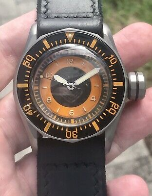 Vintage VDB Handmade Liberty M Titanium DNA Swiss Automatic 48mm Unique German
