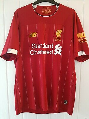 Liverpool FC Home Shirt Offical 2019-20 Adult Size Large