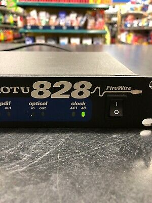 motu 828 FireWire Recording Interface