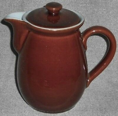Denby Stoneware HOMESTEAD PATTERN 3/4 Pint TEAPOT w/LID Made in England