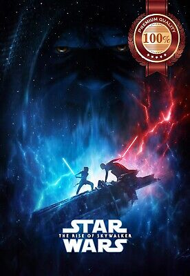 New The Rise Of Skywalker Teaser Star Wars Cinema Movie Print Premium Poster