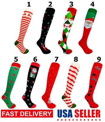 Mr Komfort Christmas Compression Socks Women Men Medical 20-30 mmHG Sz S-XL lot