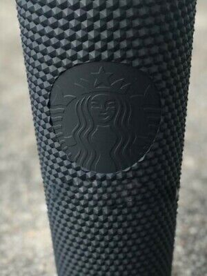 Fall 2019 Starbucks Matte Black Studded Tumbler Cup Limited Edition Halloween