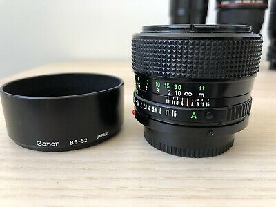Canon FD 50mm F1.2 Vintage Near Mint With Filters!
