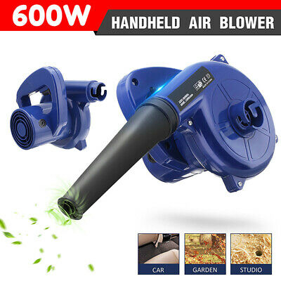 2 in1 Air Blower Handheld Electric Car Computer Cleaning Home Dust Leaf Vacuum F