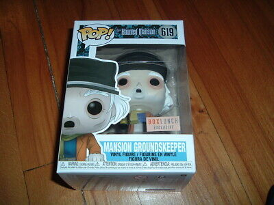 Funko Pop! Mansion Groundskeeper #619~ Box Lunch Exclusve~ Mint~ Haunted Mansion
