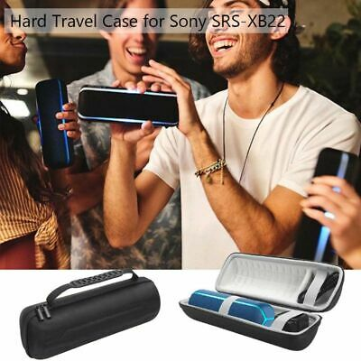Portable Round Shockproof Hard Protective EVA Case for Sony Bluetooth Speaker