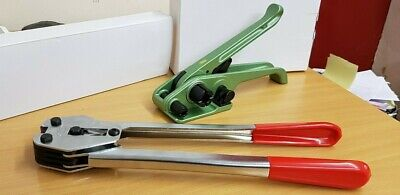 Plastic Strapping Tensioner and Sealer Tools. Heavy Duty Poly Strap Tool Set