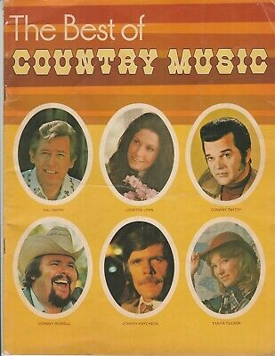 1970's The Best of Country Music magazine Loretta Lynn Conway Twitty