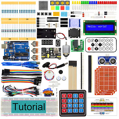 Freenove Ultimate Starter Kit with controller R3 (Arduino-Compatible) breadboard