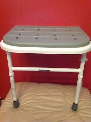 NEW Procare folding Padded Shower Seat Metal frame Professional Quality Wet Room